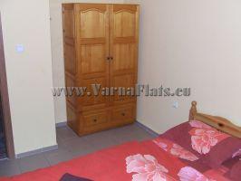 Спальня в  квартире, которую вы можете снять в Варне в Болгарии
