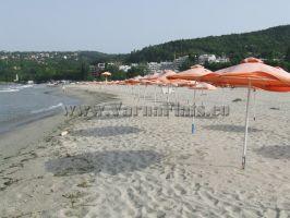 Окультуренный песчаный пляж