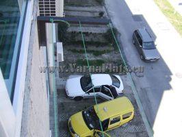 Вид из окна а парковку